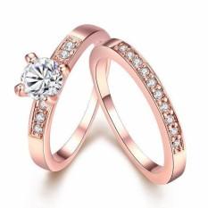 Bella & Co. Ring AKR020 Aksesoris Perhiasan Cincin Lapis Emas