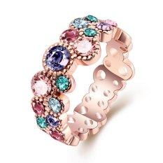 Bella & Co. Ring AKR044-A-8 Aksesoris Perhiasan Cincin Lapis Emas