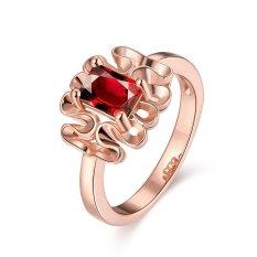 Bella & Co. Ring KZCR409-B-8 Aksesoris Perhiasan Cincin Lapis Emas