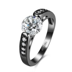 Bella & Co. Ring LKN18KRGPR863-A-8 Aksesoris Perhiasan Cincin Lapis Emas