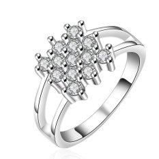 Bella & Co. Ring LKNSPCR556-7 Aksesoris Perhiasan Cincin Lapis Silver
