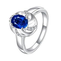 Toko Bella Co Ring Spr050 D 7 Aksesoris Perhiasan Cincin Lapis Silver Termurah