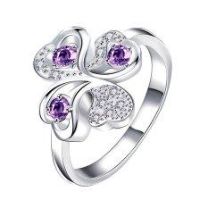 Bella & Co. Ring SPR062-A-7 Aksesoris Perhiasan Cincin Lapis Silver