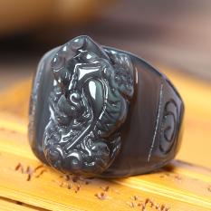 Berani Promosi Jenis Es Obsidian Cincin