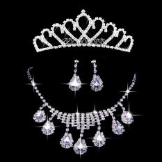 Toko Berlian Mahkota Pengantin Gaun Pengantin Kalung Menikah Termurah Di Tiongkok