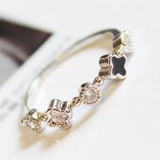 Beruntung berlian sederhana dibesar-besarkan ms. cincin Nvjie OT571OTAAR9U0WANID-60935193 Taobao
