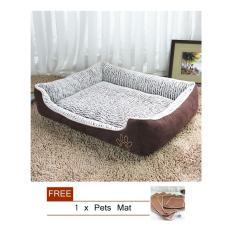 Jual Besar Tempat Tidur Hewan Peliharaan Anjing Waterproof Katun Soft L Internasional Original