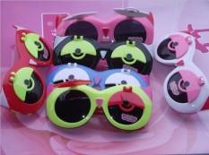 (Terbaik)-2017 Baru Anak-anak Kacamata Hitam Lipat Kacamata Kacamata Hitam Bayi Lucu Kartun Burung Hantu Kacamata-Internasional