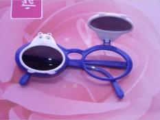 (Terbaik)-2017 Baru Anak-anak Kacamata Hitam Kacamata Anak Kacamata Lipat Kacamata Bayi Beruang Kartun Bingkai-Internasional