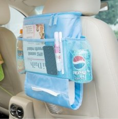 Jual Best Auto Car Mobil Seat Organizer Insulated Tahan Panas Dingin Tempat Botol Minum Biru Dki Jakarta Murah