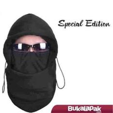 Best Product!! Kualitas Grade Super (balaclava Polar Fleece 6 In 1 Edisi Spesial- Bahan Super Tebal) By Toyo Deal Shop.