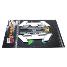 Tips Beli Best Seller Cover Baut Spakbor N Max Sct 2306 Silver