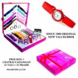 Promo Best Seller Jam Tangan Wanita Since 1988 21 Tali 21 Ring 2 Jam