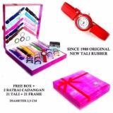 Beli Best Seller Jam Tangan Wanita Since 1988 21 Tali 21 Ring 2 Jam Terbaru