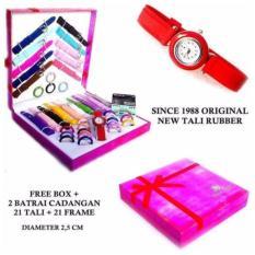 Harga Best Seller Jam Tangan Wanita Since 1988 21 Tali 21 Ring 2 Jam Baru Murah