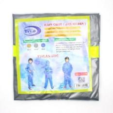 Harga Best Seller Jas Hujan Anak Baju Celana Mb 024 Silver Yang Bagus
