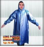 Beli Best Seller Jas Hujan Poncho Lengan Ys 080 Blue Baru