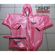 Best Seller - Jas Hujan Reebok Pink / Raincoat Reebok New - Acnyq8