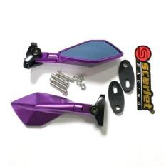 Beli Best Seller Spion Fairing Ninja 250 Full Cnc Purple Yang Bagus