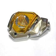 Harga Best Seller Tutup Radiator Vario 125 Gold Crom Termahal