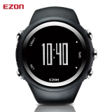 Jual Beli Best Selling Ezon Gps Timing Kebugaran Watches Sport Outdoor Tahan Air Digital Watch Speed Kalori Counter Hitam Di Tiongkok