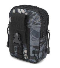 Jual Best Tas Cowo Impor Waist Tactical Bag Waterproof Untuk Dompet Hp Rokok Black Phyton Antik