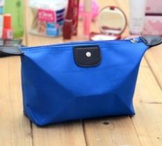 Best Tas Kosmetik Cosmetic Bag Pouch Purse Tempat Dompet Kosmetic Cosmetik - Biru Tua