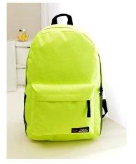 Promo Best Tas Ransel Backpack Sekolah Kuliah Impor Korean Style Cowo Cewe Bag Hijau Best