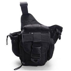 Beli Best Tas Slempang 249 Army Impor Tactical Pria Cowo Bag Tempat Botol Minum Hitam Di Indonesia