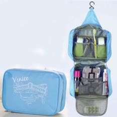 Beli Best Toiletries Venice Tempat Kosmetik Alat Mandi Korean Travel Organizer Biru