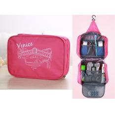 Spek Best Toiletries Venice Tempat Kosmetik Alat Mandi Korean Travel Organizer Pink Best