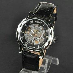 Harga Best Winner U8018 Automatic Mechanical Watch Otomatis Mekanis Hitam Asli