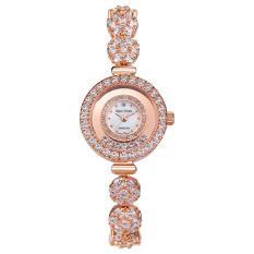 BESTDON Royalcrown Fashion Fashion Gelang Menonton Crown Royal. Diamond Watches Girls Waterproof QUARTZ Watch (Emas)
