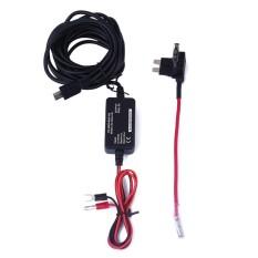 Bestprice-5V 2000 MAh Di Car Truck Auto Kendaraan Dash Cam Perekam Data GPS Hardwire Kit-Intl