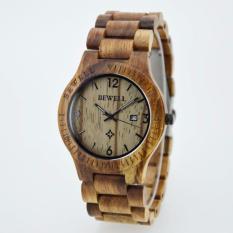 Harga Bewell Zs W086B Fashion Vintage Pria Cendana Quartz Watch Bewell Original