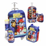 Beli Bgc 4 In 1 Paw Patrol Koper Set Troley 6 Roda Lunch Bag Kotak Pensil Botol Minum Hard Cover Online