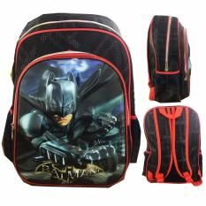 Review Bgc 5 Dimensi Batman Tas Ransel Anak Sd Import Black Army Bgc