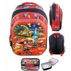 Jual Beli Bgc 5 Dimensi Cars Mcqueen Best Race Tas Ransel Anak Sd Import 3 Kantung Lunch Bag Aluminium Tahan Panas Full Motif Cars Banten