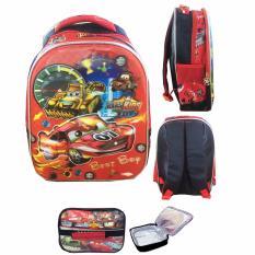 Tips Beli Bgc 5 Dimensi Cars Mcqueen Best Race Tas Ransel Anak Tk Import Lunch Bag Aluminium Tahan Panas Full Motif Cars Yang Bagus