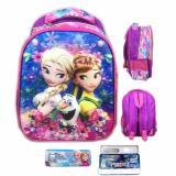 Beli Bgc 5 Dimensi Frozen Fever Elsa Anna Flower Import Tas Ranselanak Sekolah Tk Lunch Bag Aluminium Tahan Panas Pink Elsa Bgc Dengan Harga Terjangkau
