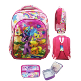 Review Terbaik Bgc 5 Dimensi Gambar Rubah Rubah My Little Pony Tas Ransel Anak Sd Import Lunch Bag Aluminium Tahan Panas Full Motif Rainbow Star