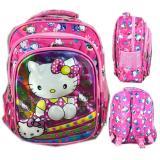 Review Pada Bgc 5 Dimensi Gambar Rubah2 Hello Kitty Tas Ransel Anak Sekolah Tk 3 Kantung Import Pink Kitty