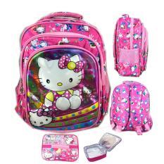 Toko Bgc 5 Dimensi Gambar Rubah2 Hello Kittytas Ransel Anak Sekolah Tk 3 Kantung Import Lunch Bag Aluminium Tahan Panas Pink Kitty Dekat Sini