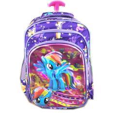 Toko Bgc 5 Dimensi Gambar Rubah2 My Little Pony Tas Troley Anak Sekolah Tk 3 Kantung Import Purple Pony Terlengkap