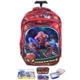 Beli Bgc 5 Dimensi Gambar Rubah2 Spiderman Tas Troley Anak Sekolah Tk 3 Kantung Import Lunch Bag Aluminium Tahan Panas Kotak Pensil Alat Tulis Red Spider Pakai Kartu Kredit