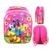 Beli Bgc 5 Dimensi My Little Pony Flower2 Tas Ransel Anak Tk Import Full Motif Pony Terbaru