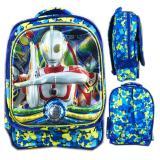 Harga Bgc 5 Dimensi Tas Ransel Anak Sekolah Sd Ultraman 3Kantung Import Blue Baru