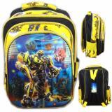 Promo Toko Bgc 5 Dimensi Transformer Bumblebee Vs Optimus Primeimport Tas Ranselanak Sekolah Sd Yellow