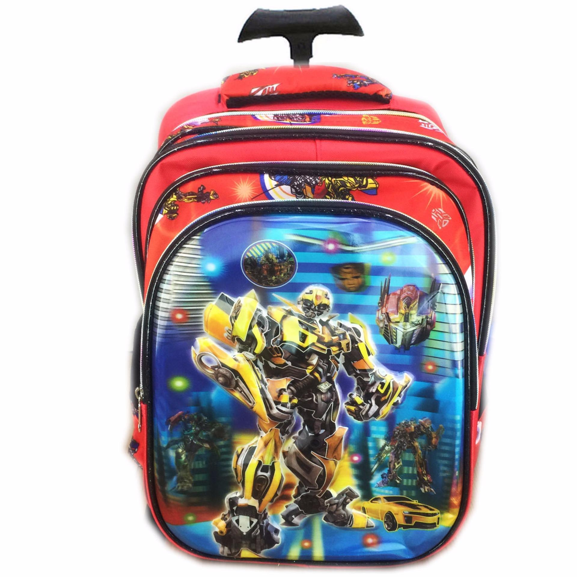 Ada Tempat Belanja Online Aman Dan Terpercaya Tas Sekolah Anak Sd I Trolley Transformers Kuat Bahan Nya Import Bgc 5 Dimensi Transformer Bumblebee Vs Optimus Primeimport Troleyanak Red