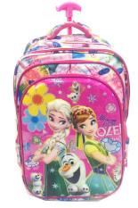 Beli Bgc 6 Dimensi Bantalan Punggung Disney Frozen Fever 4 Kantung Timbul Import Tas Troley Anak Sekolah Sd Flower Bgc Asli
